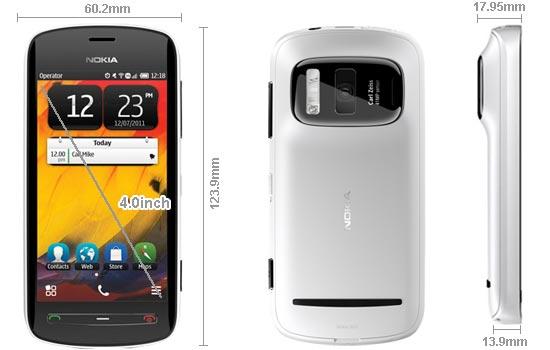 Nokia 808 Pureview Harga Spesifikasi, Ponsel Fitur Mewah Dengan Teknologi Kamera 41 MP