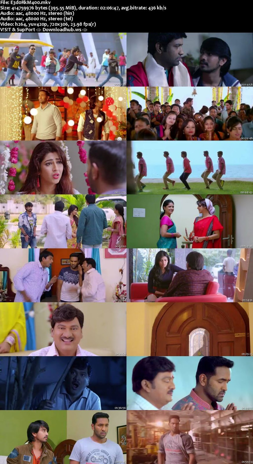 Eedo Rakam Aado Rakam 2016 UNCUT Hindi Dual Audio 480p HDRip Free Download