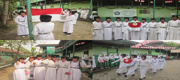 Paskibra Angkatan I MI Al Raudlah