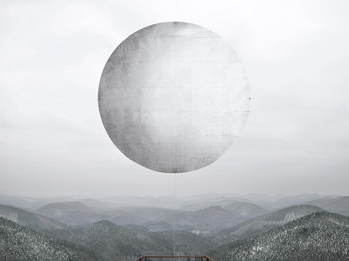 photo by Noemie Goudal - station ii | imagenes bonitas chidas bellas tristes, surrealismo fotografico, cool stuff, black and white art pictures, sad moon, lonely landscapes.