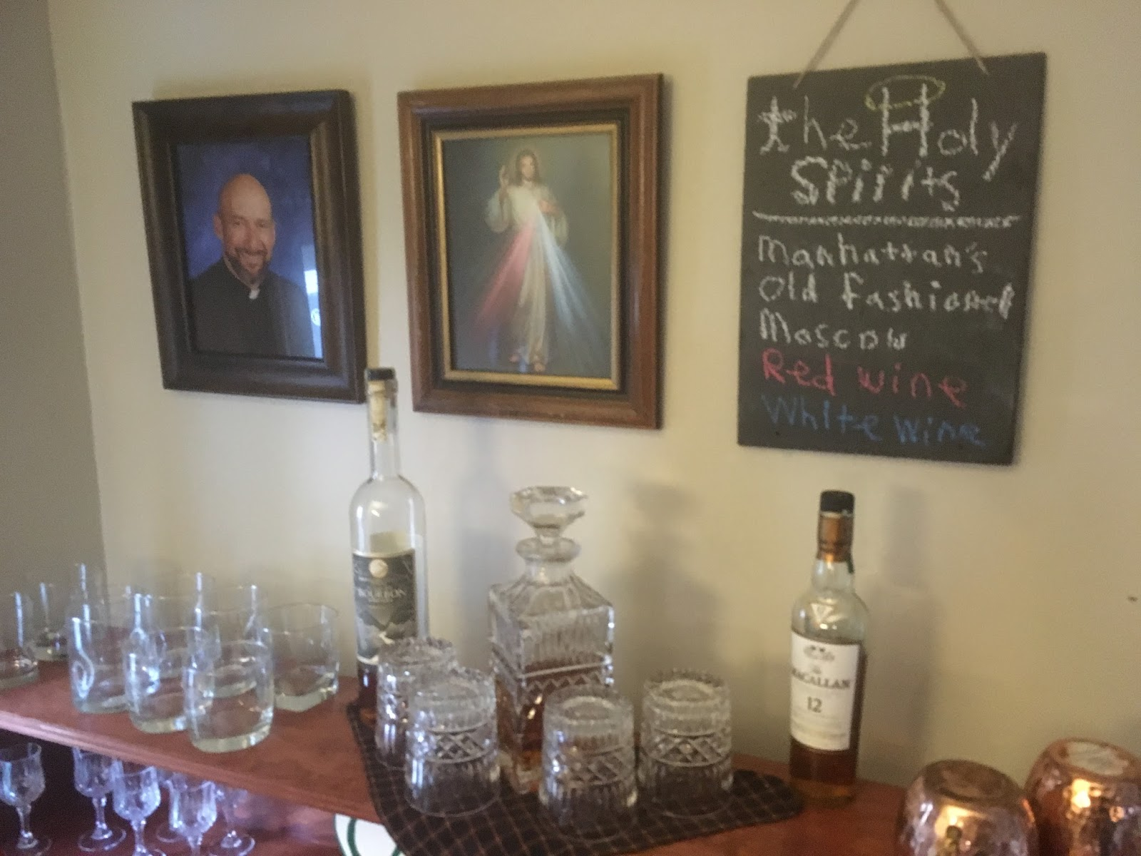 how to get a priest to bless your house
