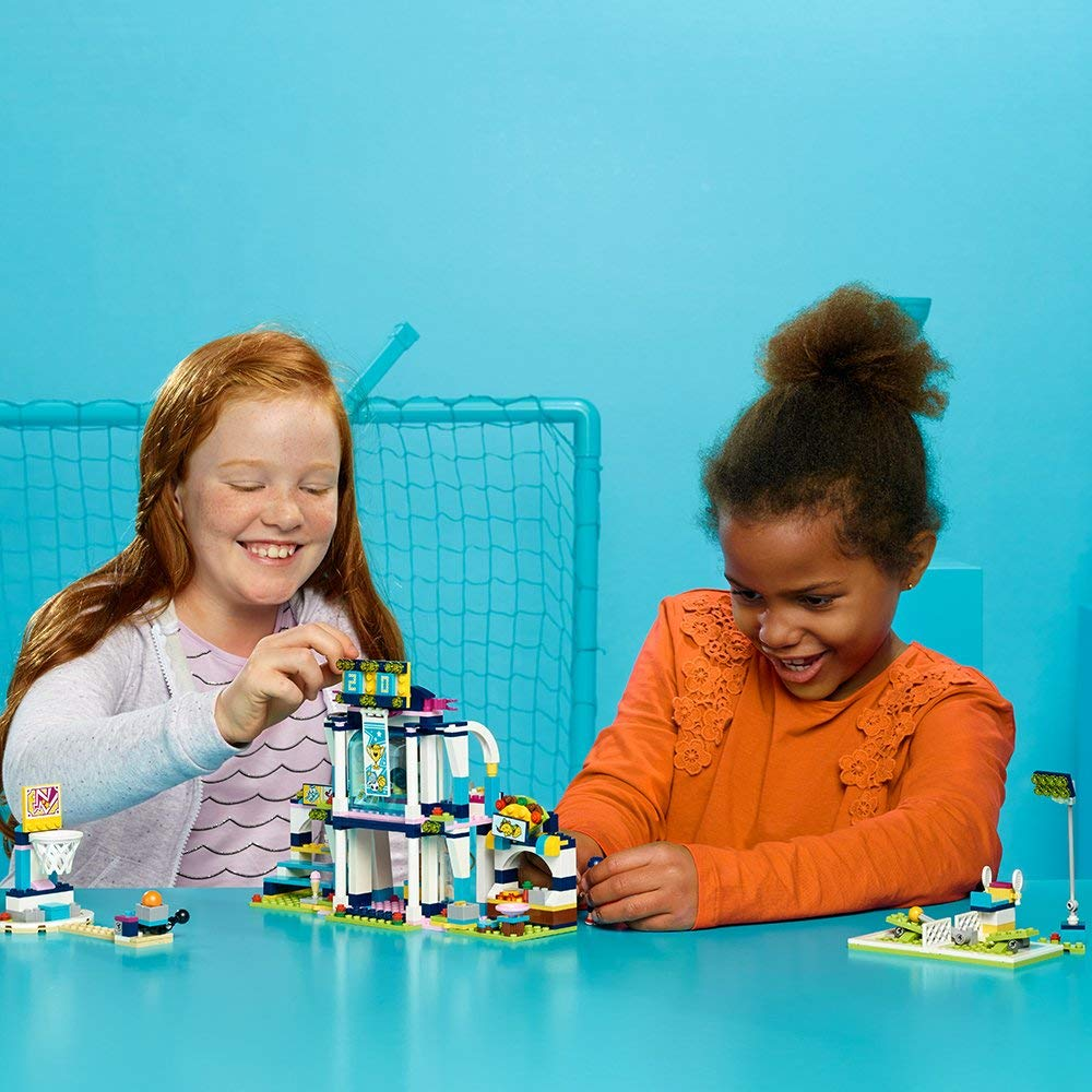 Lego Friends Stephanies Sports Arena 2963 At Amazon Was 45