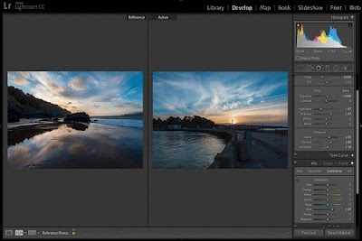 Tampilan  Adobe Photoshop Lightroom 6.8