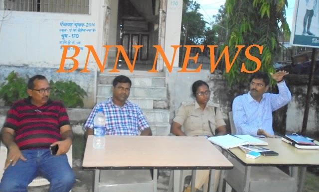 दुर्गापूजा को लेकर एसडीएम ने की बैठक