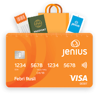 jenius btpn, kartu debit, kartu kredit, jenius btpn