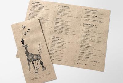 chất liệu in menu