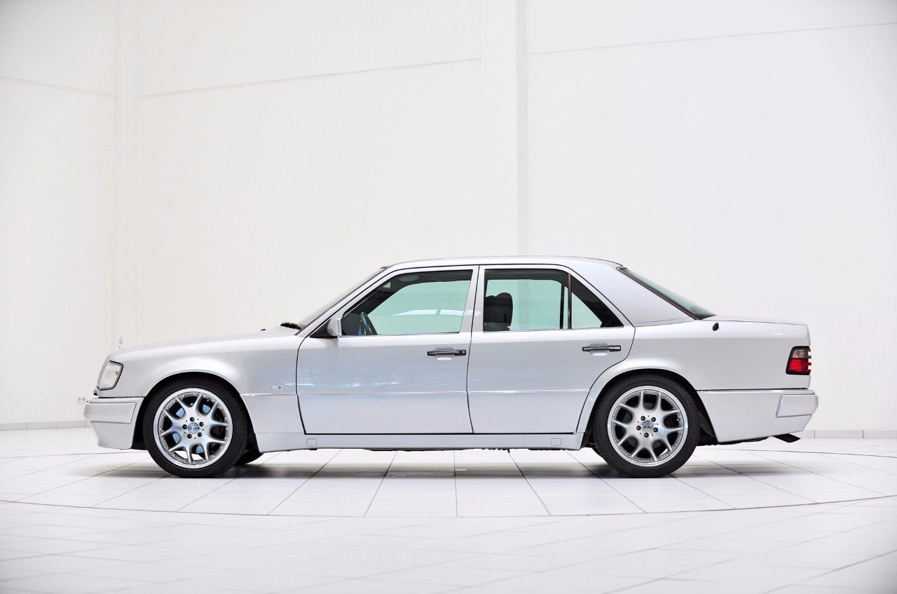 mercedes benz w124 e500 on brabus monoblock 5 benztuning. Black Bedroom Furniture Sets. Home Design Ideas