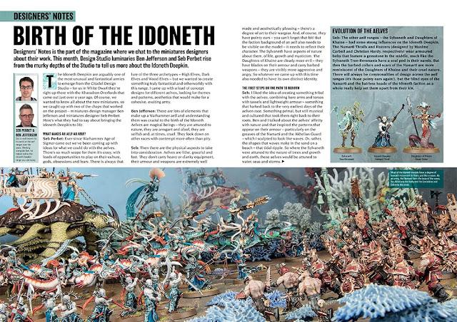 Nacimiento de los Idoneth Deepkin