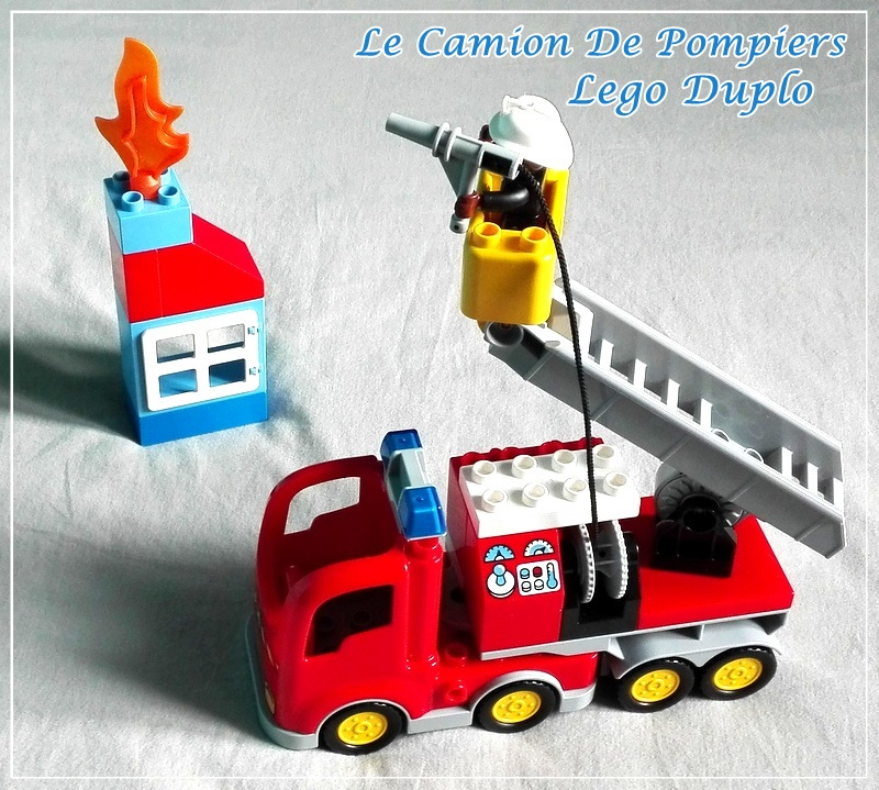 mademoiselle coralie le camion de pompiers lego duplo ca. Black Bedroom Furniture Sets. Home Design Ideas