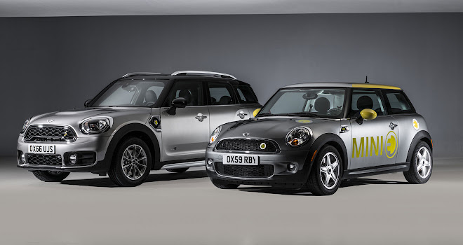 Mini Countryman Cooper S E and Mini E