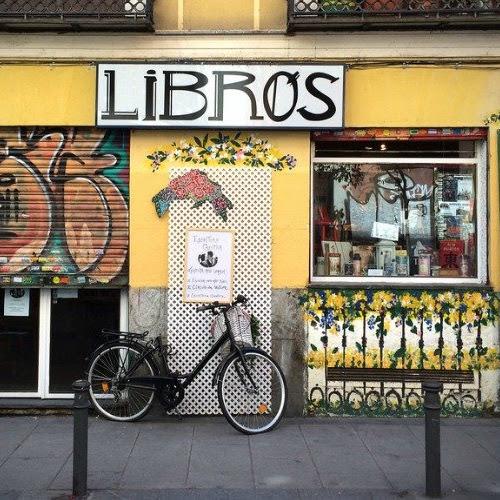 El editor-librero-ciclista
