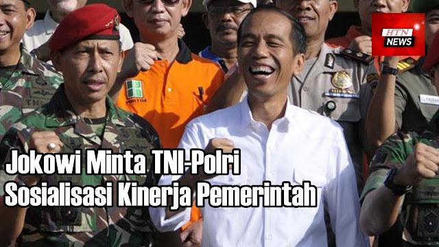 Jokowi Ajak TNI/Polri Sosialisasi Kinerja, Parpol Koalisi Berdalih Tekan Hoaks