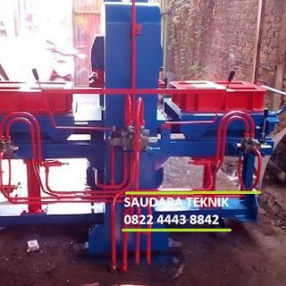 mesin press paving 2 sisi