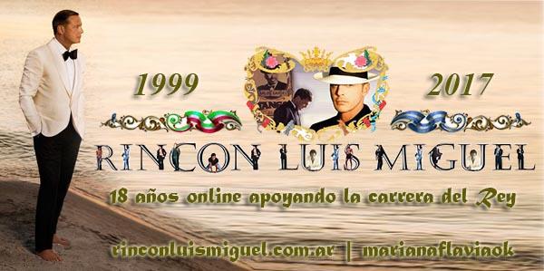 RINCÓN LUIS MIGUEL, 18º aniversario
