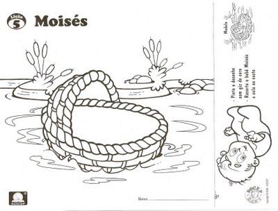 Excelente Página Para Colorear De Bebé Moses Foto - Páginas Para ...