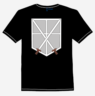 SNK - Trainee Corp T-Shirt Design Back