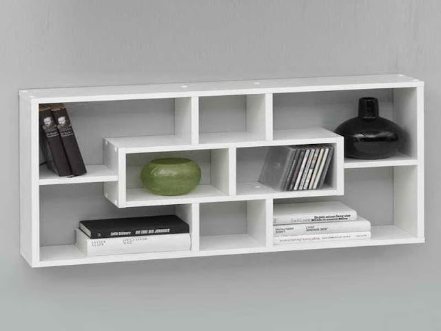Minimalist Modern Wall Shelves Decorating Ideas