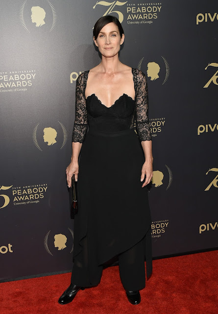 Actress, @ Carrie-Anne Moss - 75th Annual Peabody Awards Ceremony at Cipriani Wall Street