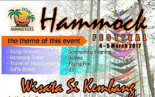 Event Batang | 4-5 Maret 2017 | Festival Hammock Tower and Camping Fun
