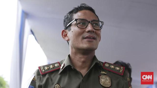 """Sandiaga Uno Luncurkan """"One Kecamatan One Ondel-ondel'"""