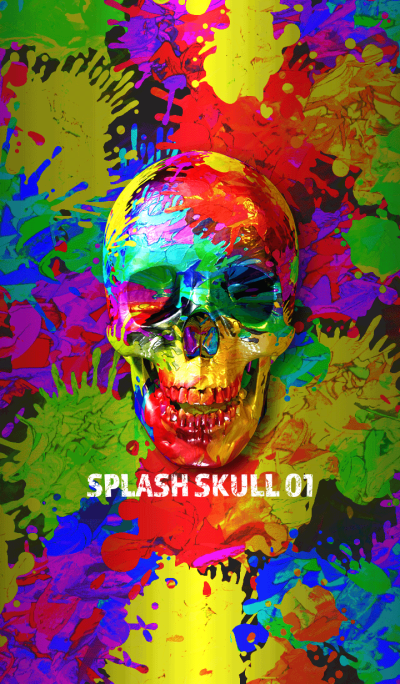 SPLASH SKULL 01