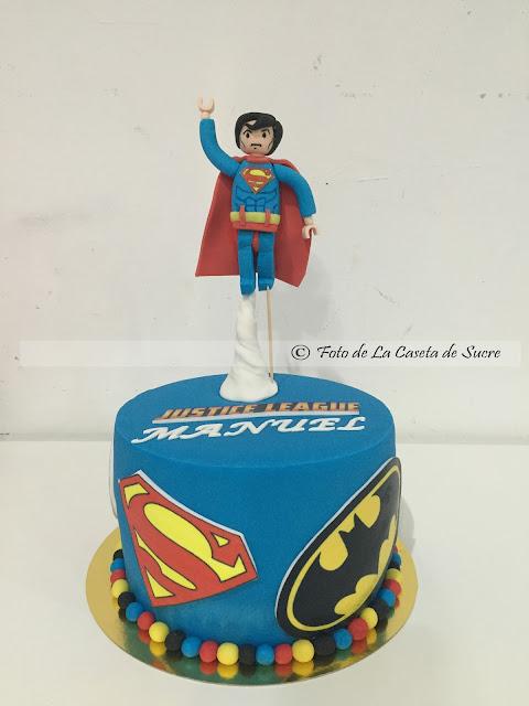 TARTA LEGO SUPERHEROES