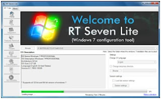 Customize windows 7 installer menggunakan RT Se7en Lite