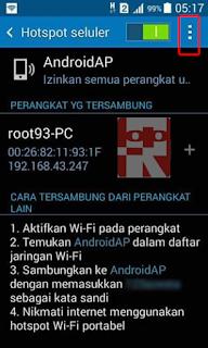 hotspot seluler konfigurasi 3