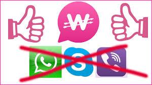 ودعا wahtsapp الان برنامج wowapp والربح منه من خلال التحدث منه .