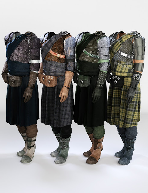 Highlander Outfit Textures