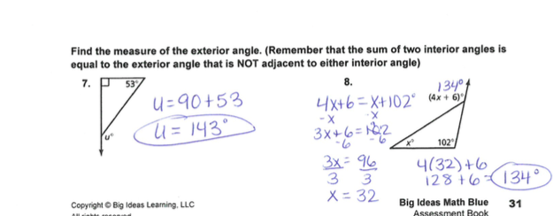 Grade 6 Math with Ms  Eringis : REVIEW SHEET ANSWER KEY