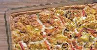 Λαχανικά φούρνου με σως από κάσιους - by https://syntages-faghtwn.blogspot.gr