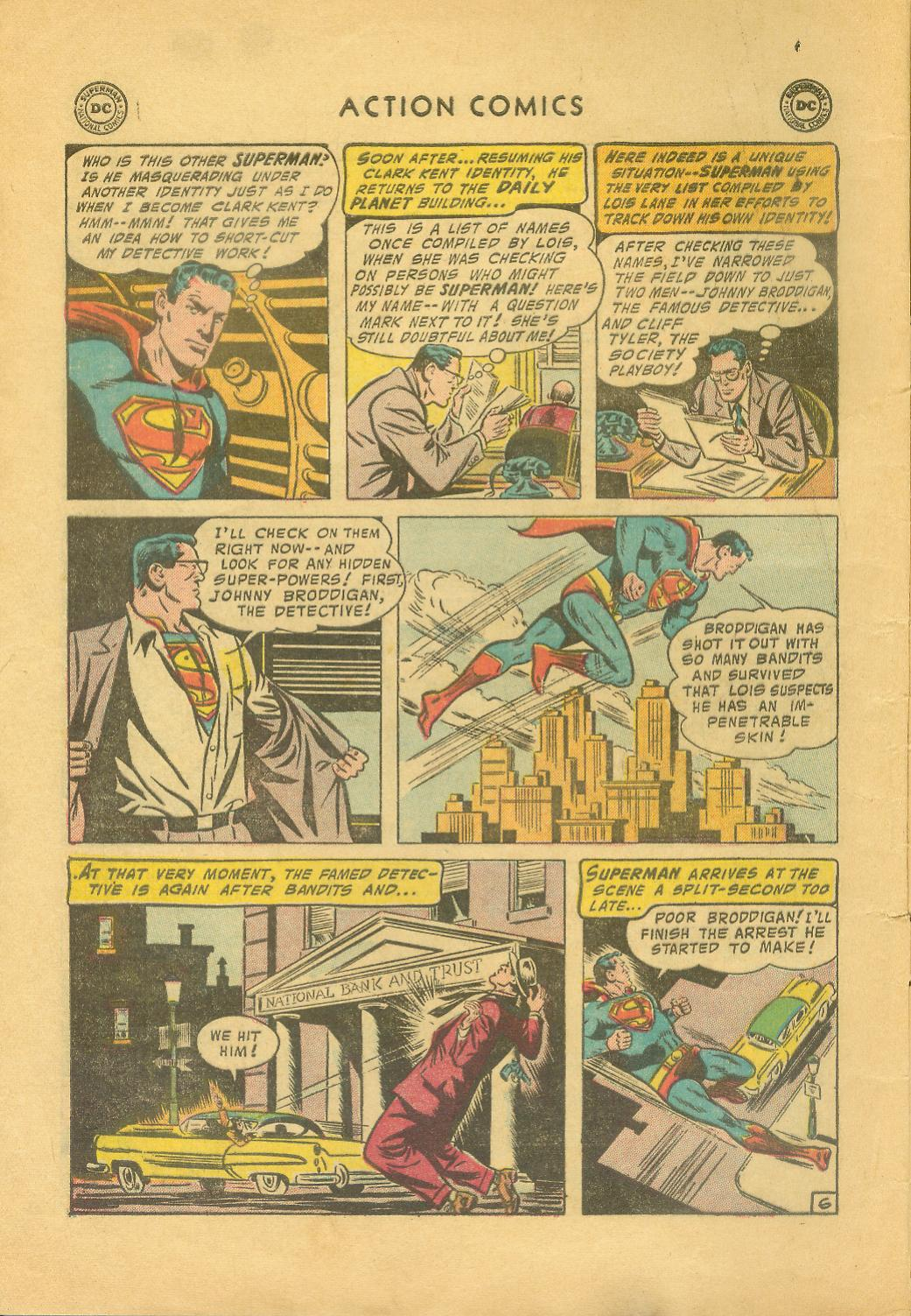 Read online Action Comics (1938) comic -  Issue #216 - 9