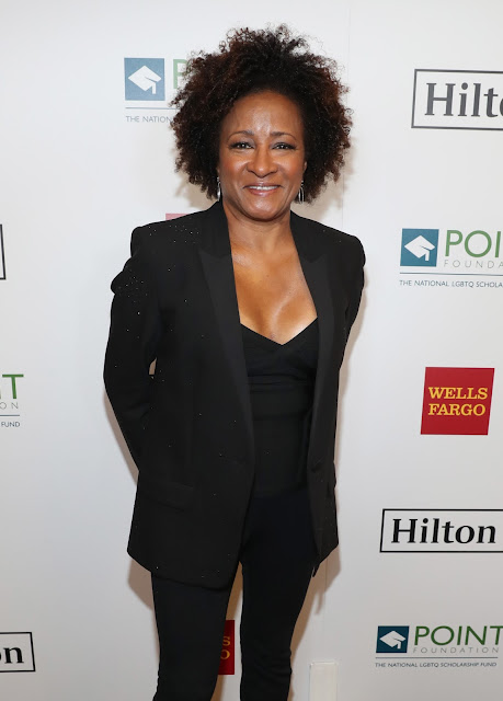 Honoree Wanda Sykes at Point Honors Los Angeles 2017, benefiting Point Foundation, at The Beverly Hilton Hotel on October 7, 2017 in Beverly Hills, California.