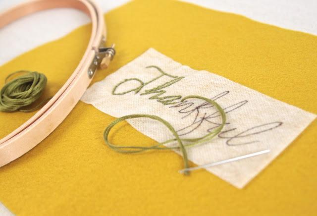Embroidery // Sulky Fabri Solvy // Benzie Design