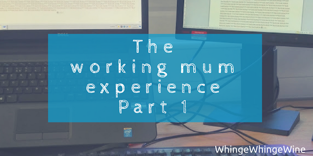 The working mum experience: Part 1 - return from maternity leave