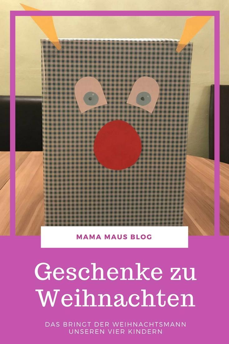 Blog Weihnachtsgeschenke.Das Bringt Der Weihnachtsmann Weihnachtsgeschenke 2017 Mama Maus