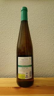 Botella de Marqués de Villalúa