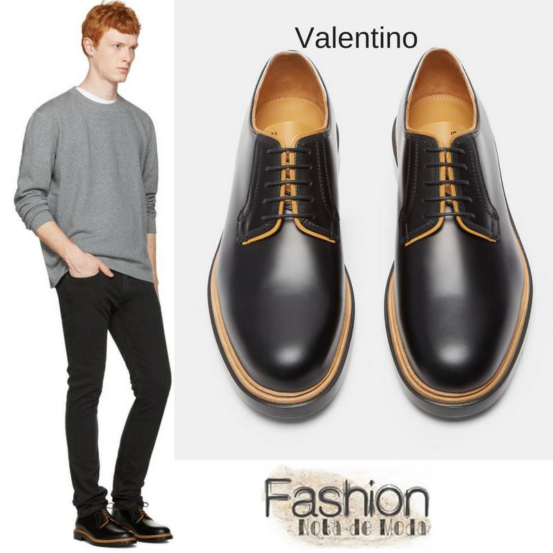 Moda masculina, sapatos masculinos 2017