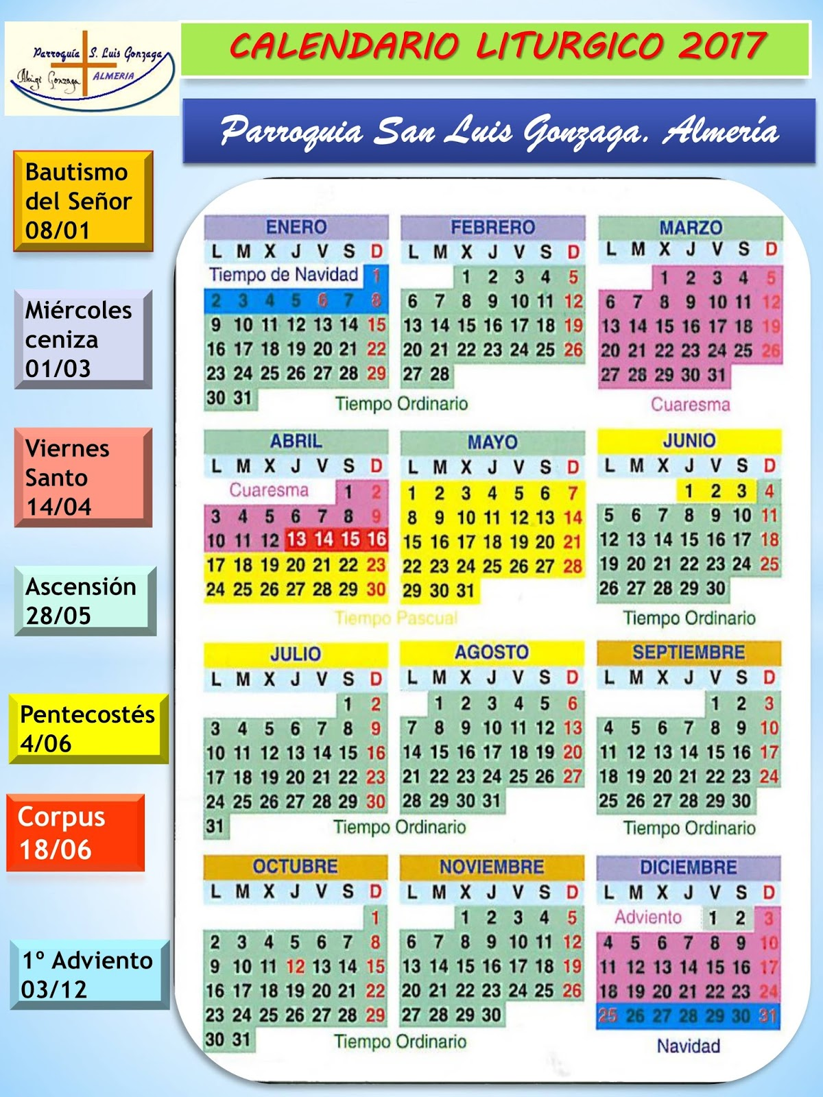 Calendario Santoral.Calendario Santoral 2019 Remanrisupp Tk
