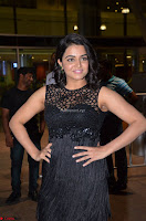 Wamiqa Gabbi in a sleeveless Black Designer Transparent Gown at 64th Jio Filmfare Awards South ~  Exclusive 055.JPG