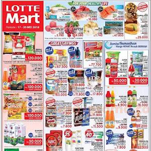 Katalog Promo Lottemart Hypermarket Weekend 17 - 20 Mei 2018
