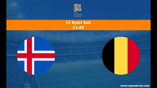 İzlanda - BelçikaCanli Maç İzle 11 Eylül 2018