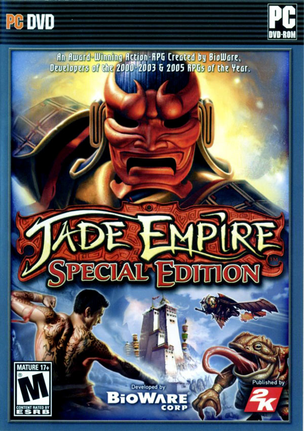 Jade Empire Special Edition Download Cover Free Game