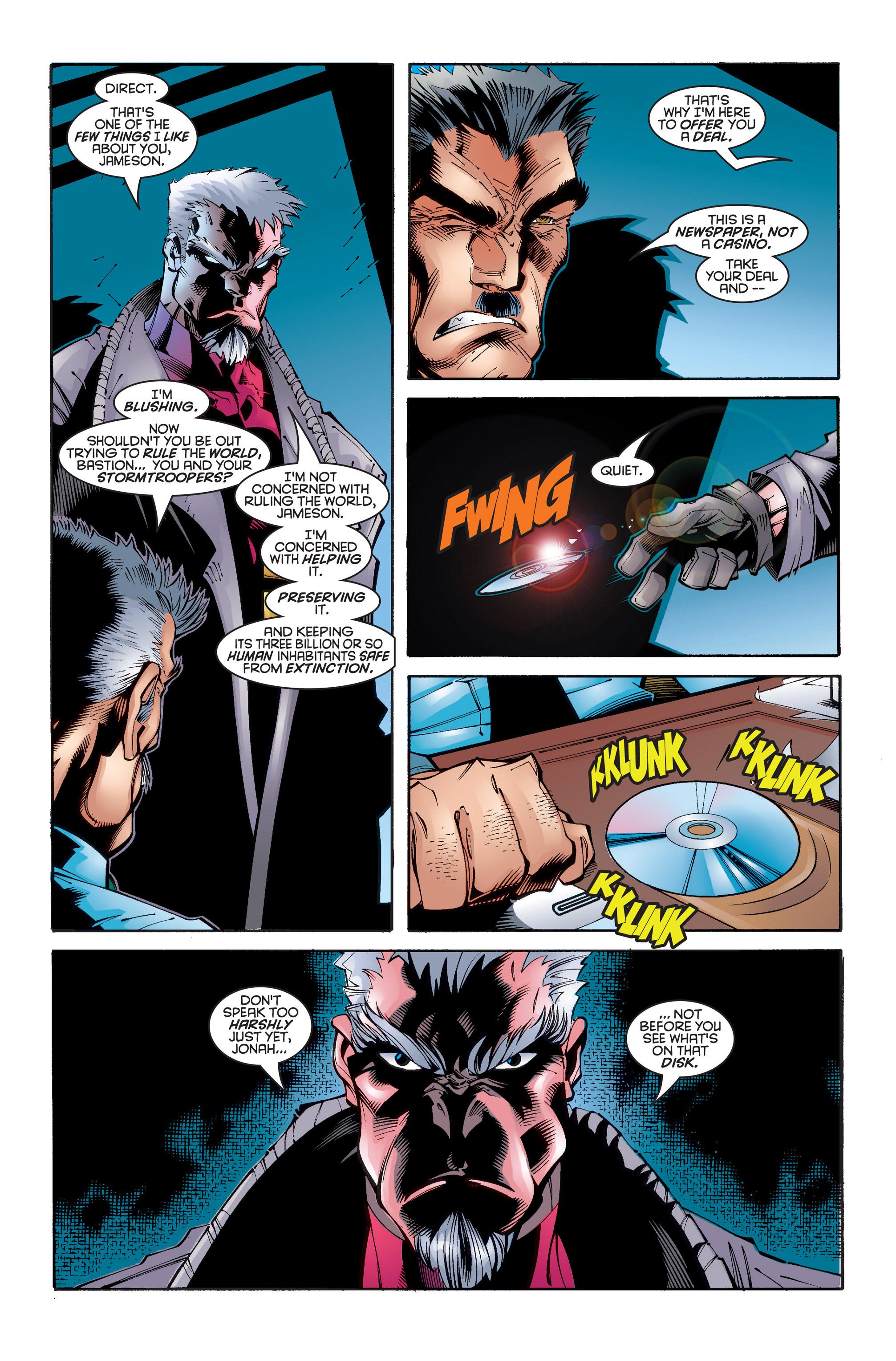 Read online Uncanny X-Men (1963) comic -  Issue #346 - 11