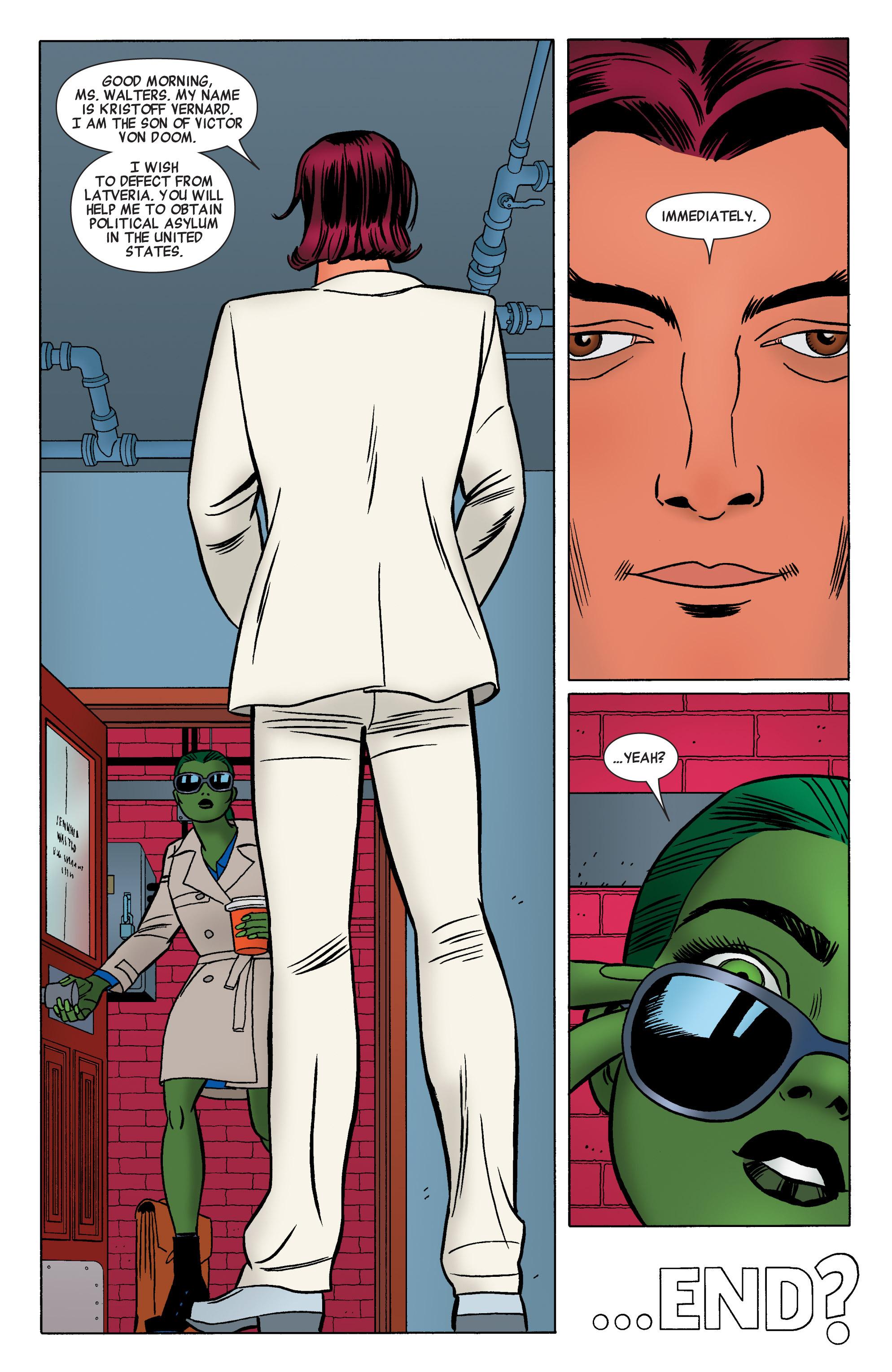 Read online She-Hulk (2014) comic -  Issue #2 - 19