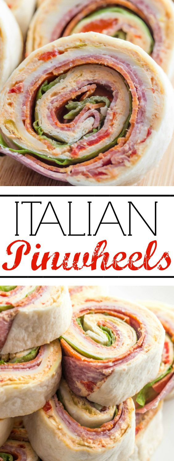 Italian Pinwheels Recipes