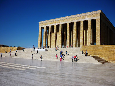 Ataturk Mausoleum in Ankara by Igor L.
