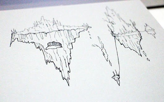 Floating Isles Sketches