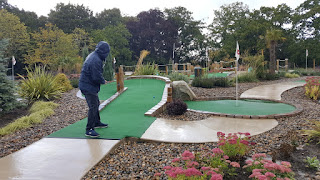 Adventure Golf at the Four Ashes Golf Centre in Dorridge